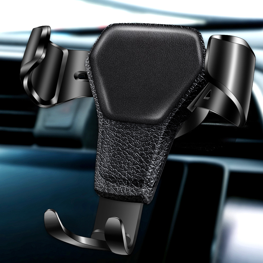 Gravity Car Holder For Phone In Car Air Vent Clip Mount No Magnetic Mobile Phone Holder Cell Stand Support For IPhone 11 X 7 8 6