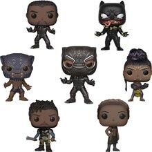 Funko pop preto panteras #273 venomizado preto panthers #370 figura de vinil bonecas brinquedos marvel figura de ação modelo brinquedos coleções