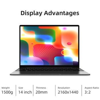 CHUWI GemiBook Pro 2K Screen 14inch Laptop Intel Gemini lake J4125 Quad Core 12GB RAM 256GB SSD Windows 10 With backlit keyboard 2