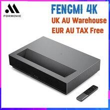Лазерный проектор для кинотеатра Formovie 4K, 2000 ANSI люмен, Bluetooth HDR10, проектор для домашнего кинотеатра, видео с английским интерфейсом, без пошлин...