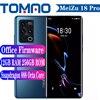 New Meizu 18 Pro 5G Smartphone 6.7inch 120Hz Snapdragon 888 4500mAh 40W 8GB 12GB RAM 128GB 256GB ROM 50MP Camera Google Play NFC 1