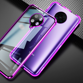 For Xiaomi Pocophone Poco F2 F 2 Pro Case Dual Tempered Glass Cover Camera Guard Full Armour Phone Case For Redmi k30 K 30 Pro