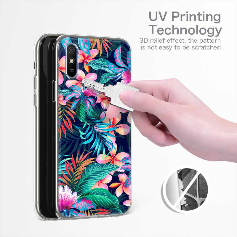 Coque de téléphone pour Sony Xperia XA2 étui souple Silicone peinture Fundas pour Sony XA2 couverture H3113 H3123 H3133 H4113 5.2 pouces couverture