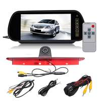 New 7 inch Monitor Brake Rearview Camera Car Rear View Camera Monitor w/Brake Light Reversing Camera Kit For Mercedes Sprinter