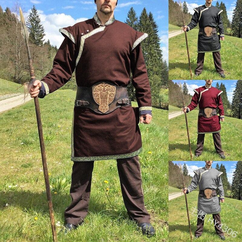 Medival Landsquenet Shirt Cotton Middle Ages SCA Larp Reenactment