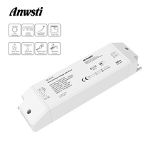 цены Triac LED Driver Dimmable Constant Voltage 1CH 40W AC 220V to DC 12V 24V PWM Digital Dimming Triac Driver 12V for LED Light Tape