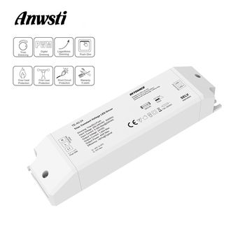 цена на Triac LED Driver Dimmable Constant Voltage 1CH 40W AC 220V to DC 12V 24V PWM Digital Dimming Triac Driver 12V for LED Light Tape
