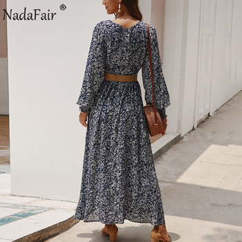 Long Sleeve Spring Elegant Retro Maxi  2