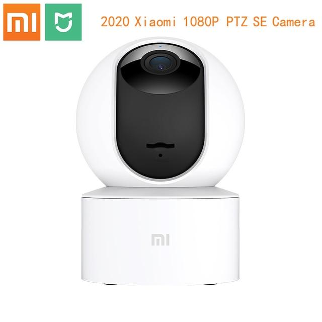 Xiaomi Mijia חכם IP המצלמה HD 1080P 2.4G Wifi אלחוטי 360 ° 10m ראיית לילה אבטחה חכמה Ai דמוי אדם זיהוי מצלמת