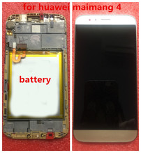 цены 0riginal for Huawei maimang 4/G7plus LCD Display with frame with battery Touch Screen Digitizer Assembly Replacement