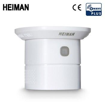 HEIMAN Zwave датчик угарного газа Z-Wave CO детектор умный дом защита безопасности Чувствительная система сигнализации Z wave сеть