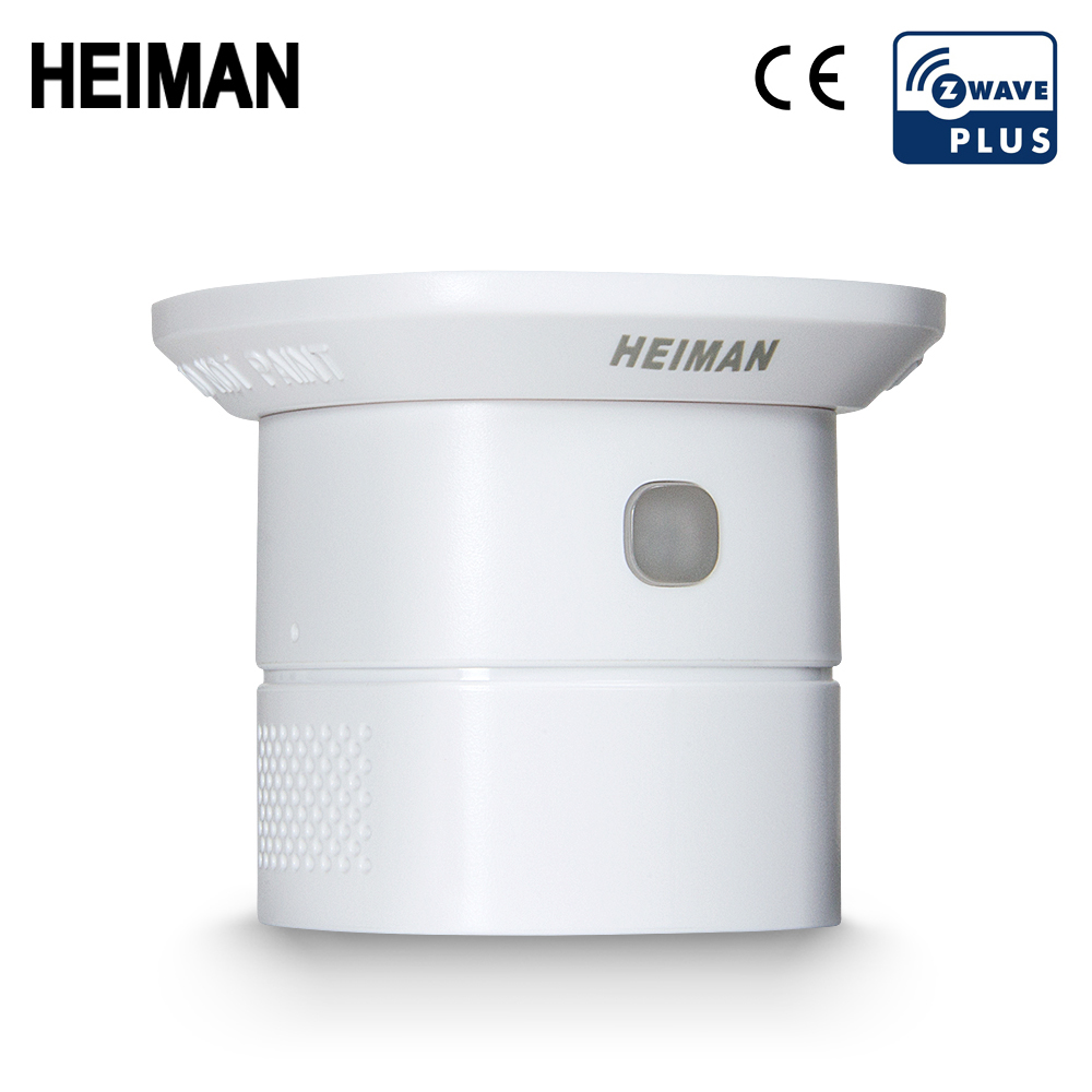 HEIMAN Zwave Carbon Monoxide Sensor CO Detector Smart Home/house Security Protection Sensitive Alarm System Z Wave Network