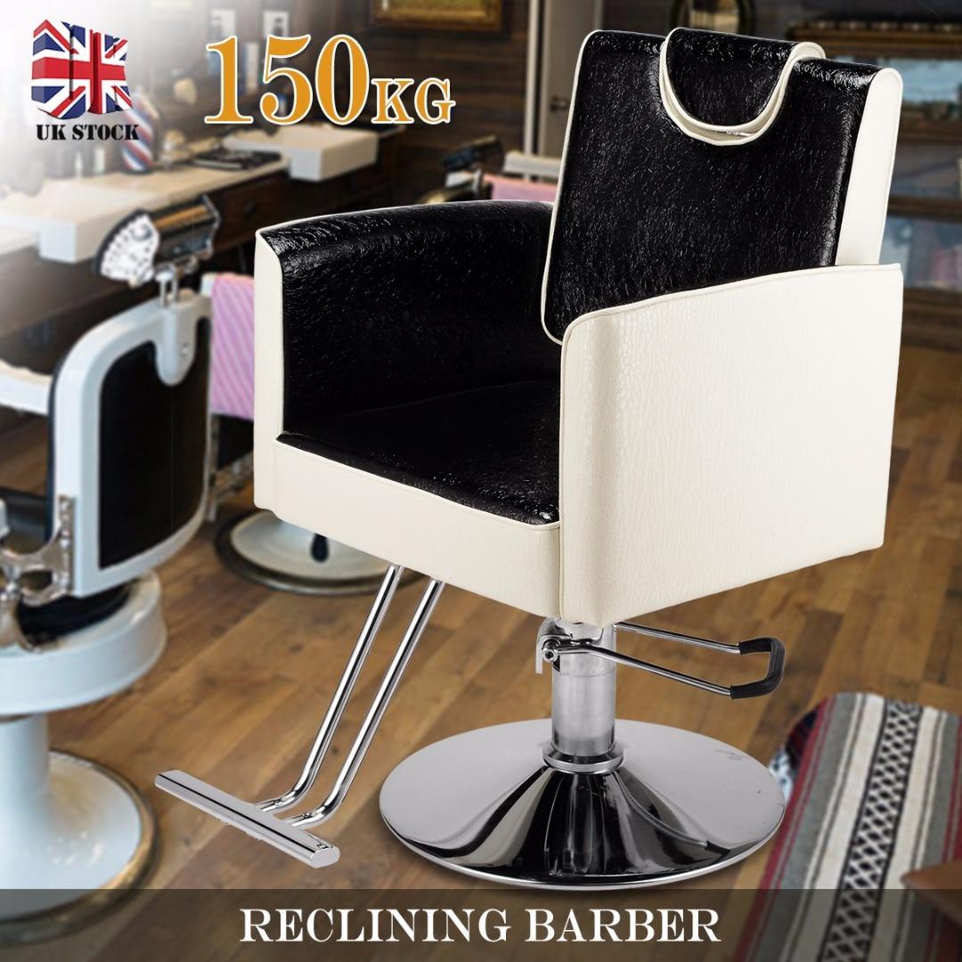 Salon Barber Chair Reclining Barber Hairdressing Cushion Chair For Hair Cut Beauty Spa Barbershop Furniture Chair