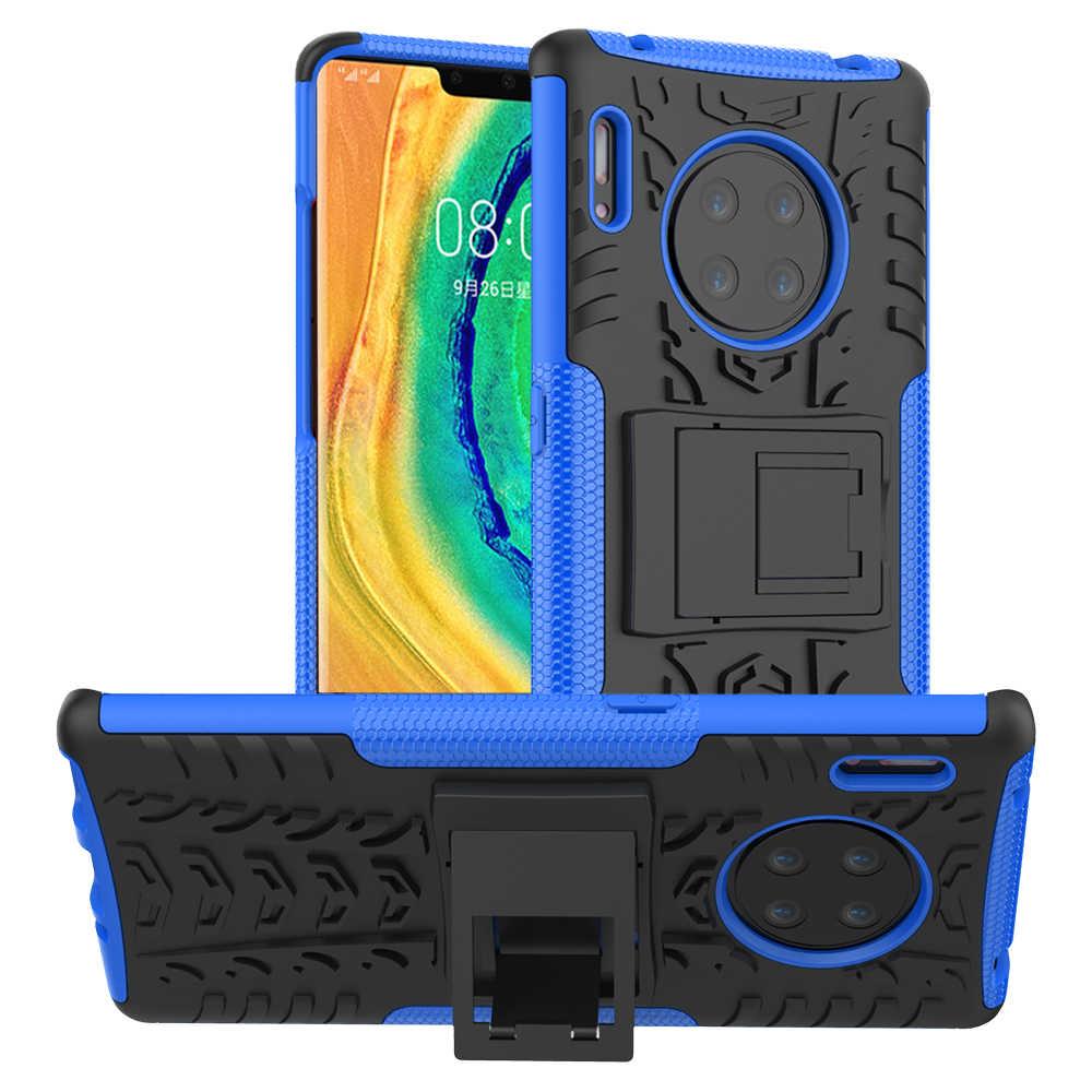 Per Huawei Compagno di 30 Pro Caso Compagno di 30 Pro TPU + PC Hybrid Heavy Duty Armatura di Caso Per Huawei Mate 30 Pro Dura Prova di Scossa Della Copertura Posteriore