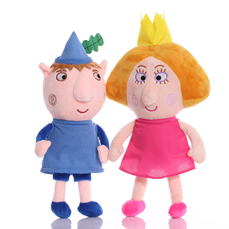 35cm Ben And Holly Plush Toys Cute Soft Dolls For Kid Birthday Gift