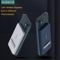 Batteria portatile Wireless 5000mah ferzing Magnetic Qi per iPhone 12 mini Pro Max 11 Xiaomi Huawei Power Bank caricabatterie Magsafe