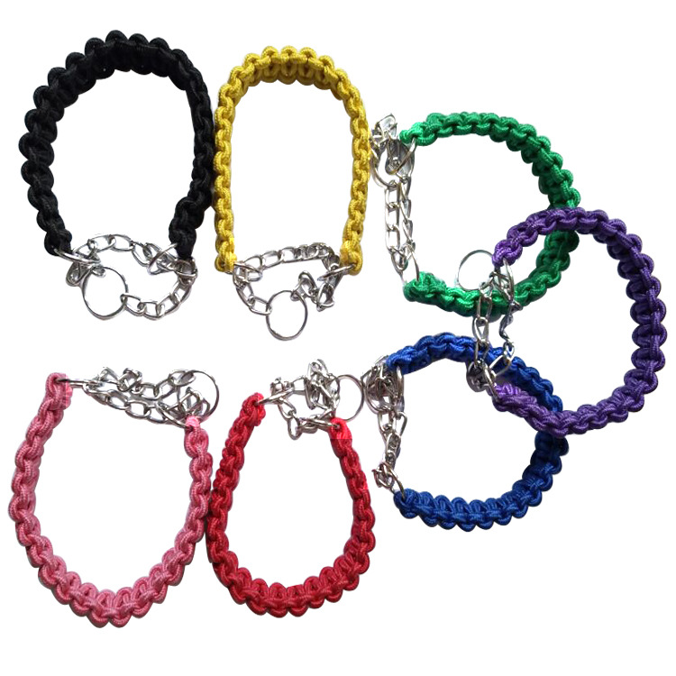 Currently Available Pet Dog Chain Dog Rope Dog Hand Holding Rope Neck Ring Large And Medium Small Dogs Dog Rope Pet