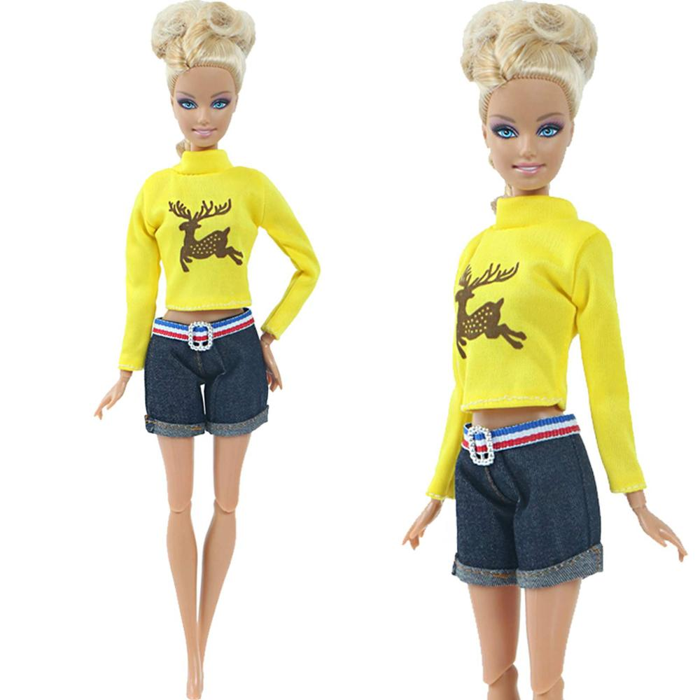 Details about  /Top Crocodile Grain New Arrival Doll Clothes Dress for  Doll with ShawY oL