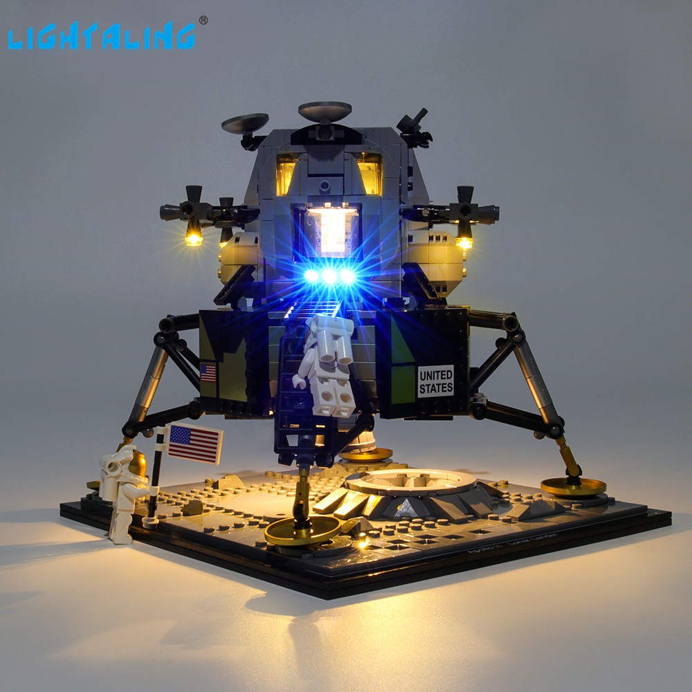 LED Light Lighting Kit ONLY For LEGO 10266 Apollo 11 Lunar Lander Building