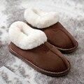 Casa sapatos homens chinelos de casa chinelos dos homens das mulheres casais quentes deslizamento no chão confortável casa chinelos chinelo