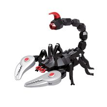 Realistic RC Scorpion Remote Control Infrared Sounds Flashing Eyes Kids Adults Toy Best Gift R7RB rc scolopendra infrared remote control centipede toy