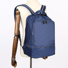 Oxford Cloth Backpack Mens Casual New Style Cool Korean-style Waterproof Outdoor Travel School Bag