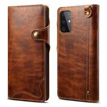 Echt Leer Voor Samsung Note 20 Flip Case Samsung S20 Ultra Luxe Case Voor Samsung Galaxy S10 Cover Note 10 plus S20 + Note20