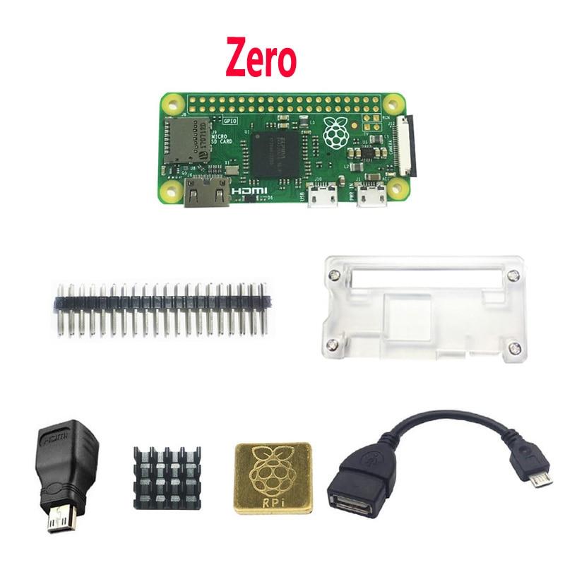 Raspberry Pi Zero W WH Pi0 Zero Case Heat Sink OTG HDMI.