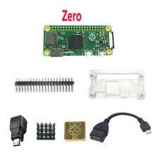 Raspberry pi zero w wh pi0 zero caso dissipador de calor otg hdmi.