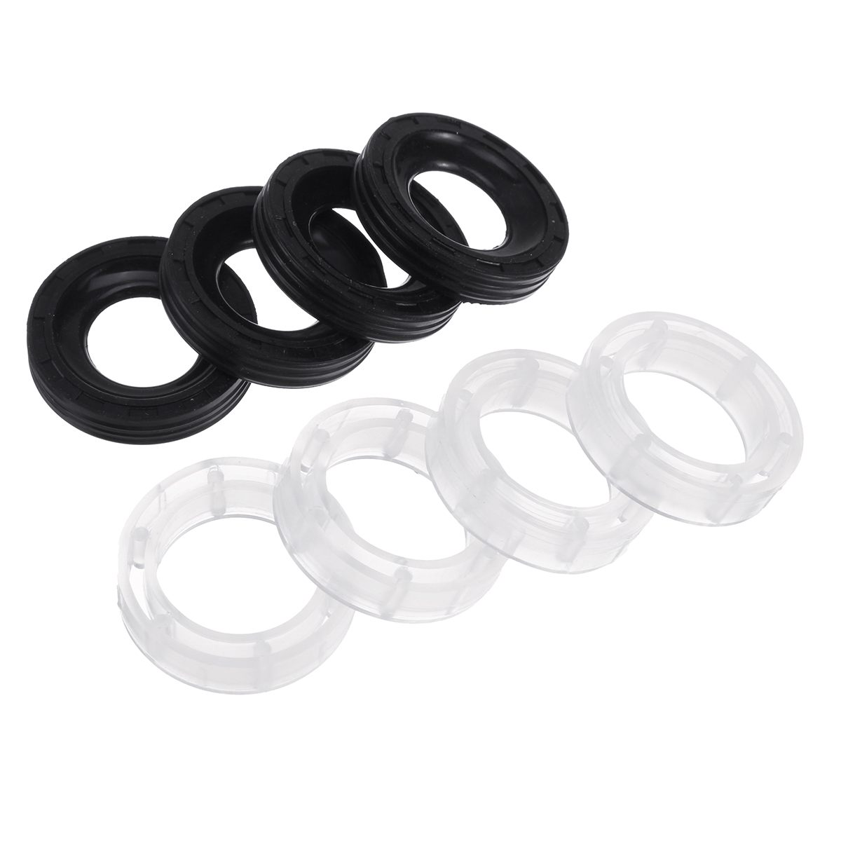 Peugeot 307 SW 1.6 HDi 2004-on  4x New Fuel Injector Seal Washer Oring Kit Set