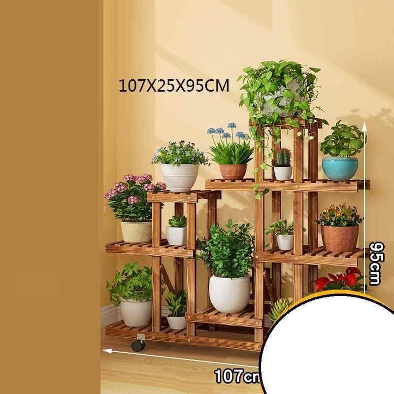 מדפים עבור Estanteria Macetas Mueble Para Plantas סיר Stojaki Stojak Na Kwiaty מתלה מרפסת מדף חיצוני פרח צמח Stand