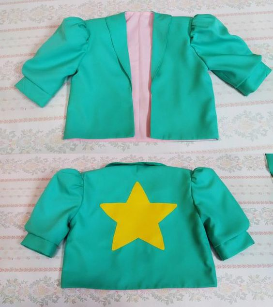 Steven Universe Cosplay Costume Steven Universe Pearl Cosplay Jacket Coat Custom Made