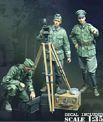 1/35 Uncolor Ancient  (3 FIGURES WITH DEVICE )   Toy Resin Model Miniature Resin Figure Unassembly Unpainted