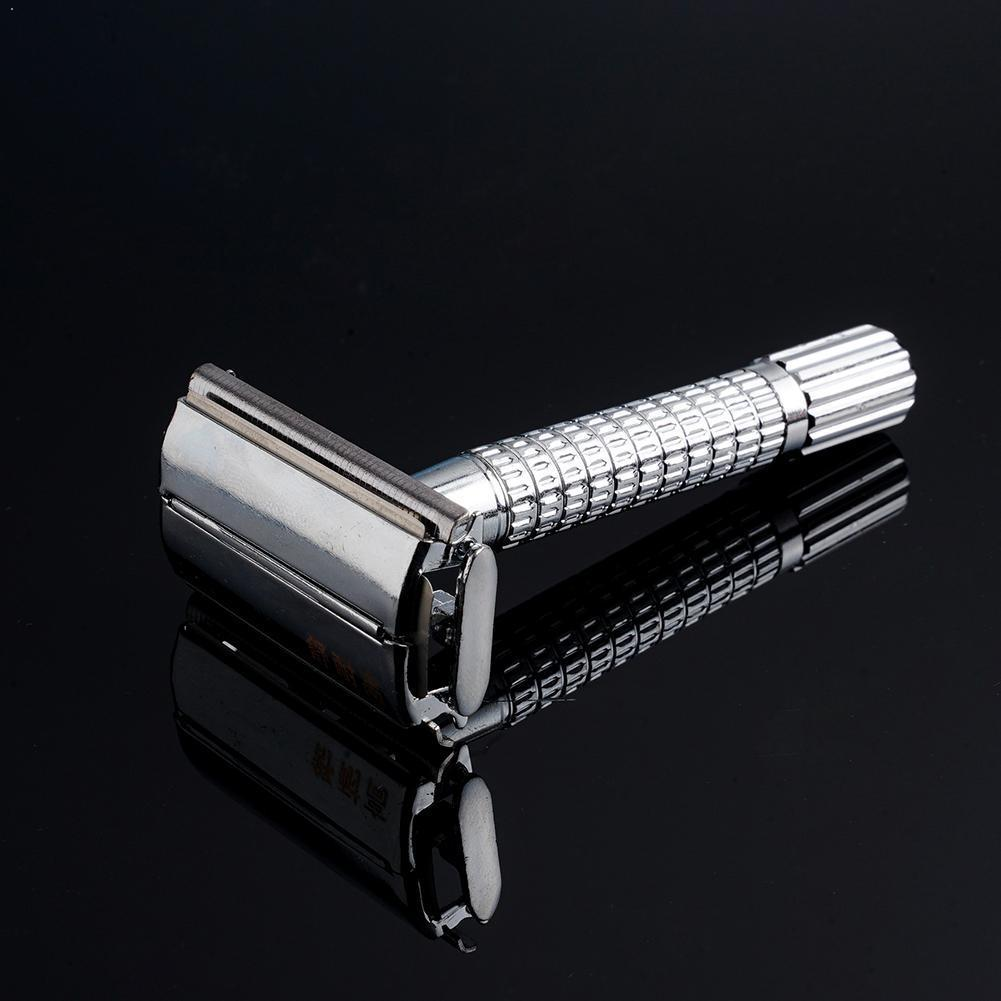 Adjustable Safety Razor And Base For Man Shaving Razor Classic 5 Razor Safety Blade With Y1N9