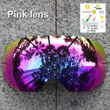 PHMAX-gafas antiniebla magnéticas polarizadas UV400, lentes de esquí para Snowboard, reemplazo de gafas de esquí para nieve