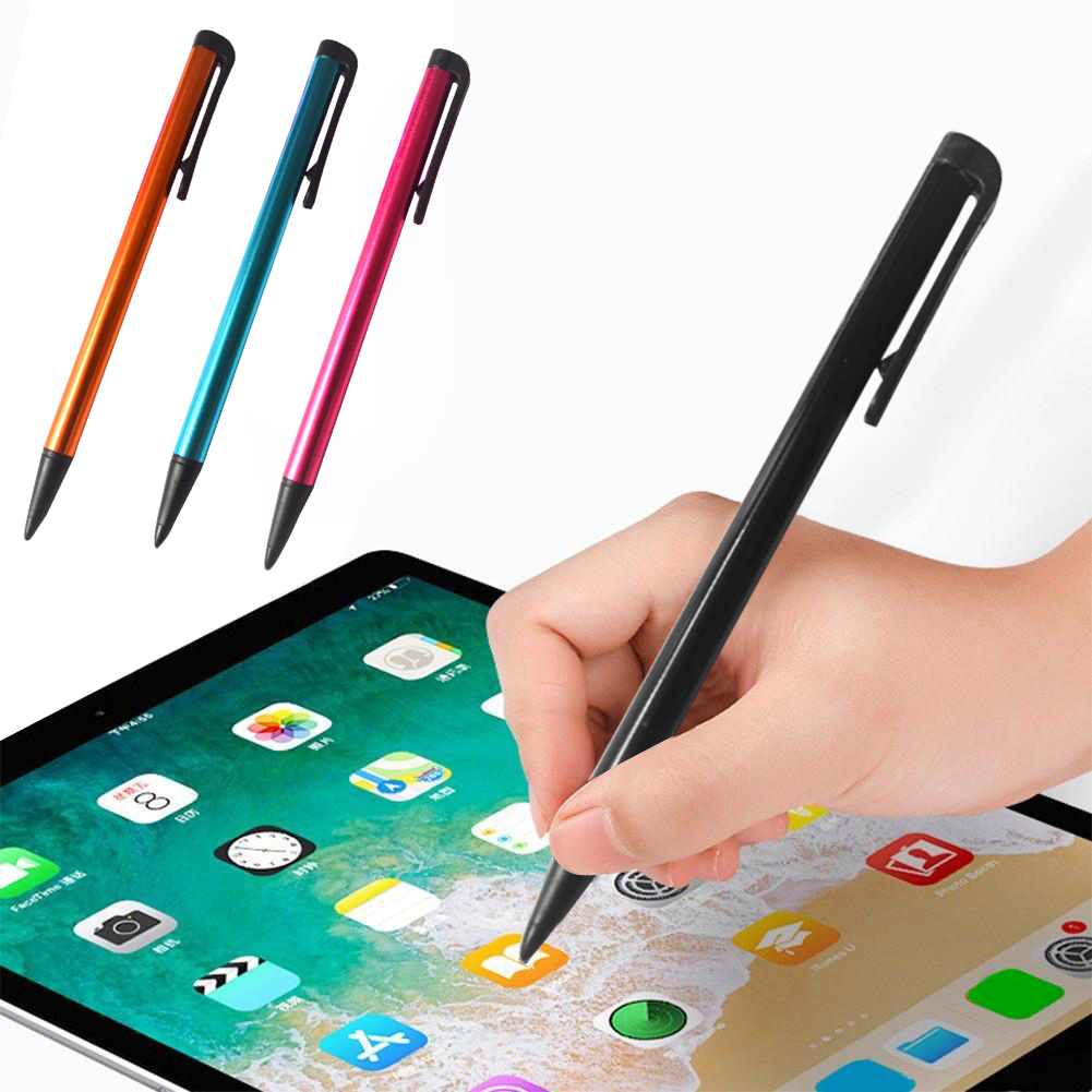 Capacitive Pen Touch Screen Pencil Stylus Pens Fine Tip 6 Colors For Tablet IPad Cell Phone High Sensitivity Universal