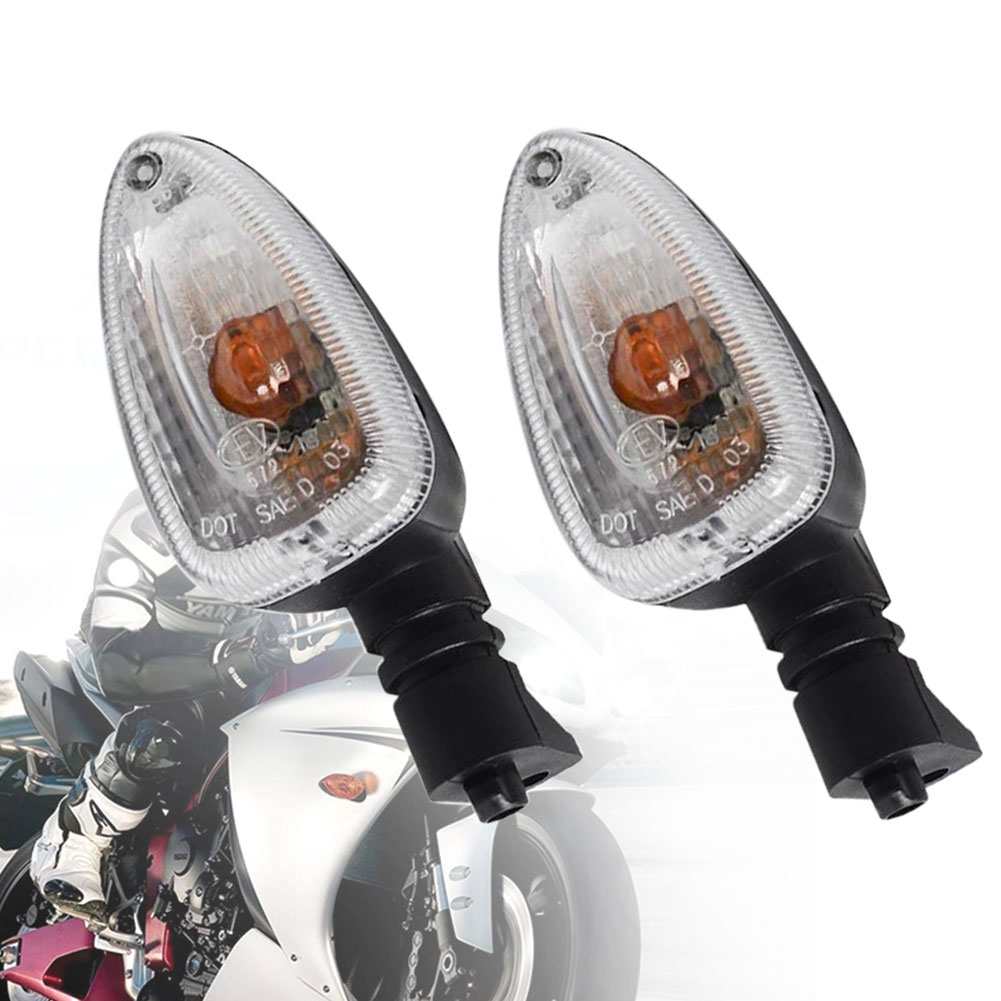 2xClear Turn Signal Light Indicator For BMW F650GS R1200GS F800GS HP2Enduro 1