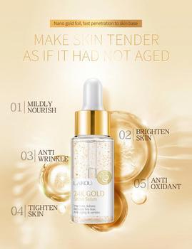 Snail Serum 24K Gold Creams Whitening Moisturizing Anti Wrinkle  Essence Moisturizers Skin Care Face TSLM2