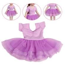 1 шт балетная юбка Одежда для куклы 18 дюймов красивая одежда