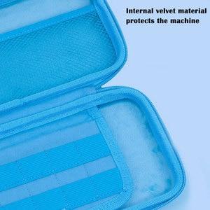 Image 4 - Nintend מתג נייד מקרה כחול חמוד אחסון תיק PU עמיד למים כיסוי מעטפת עבור Nintendo מתג לייט משחק קונסולת אבזרים