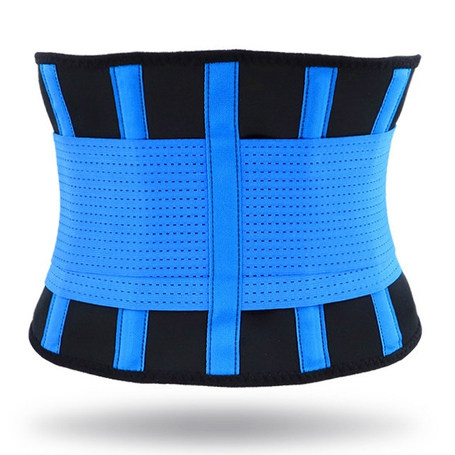 Adjustable Waist Back Support Waist Trainer trimmer Belt Sweat Utility Belt For Sport Gym Fitness Weightlifting Tummy Slim Belts 4