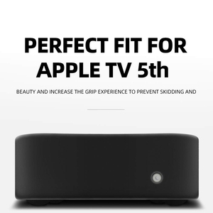 Image 2 - Protective Case Compatible for Apple TV 4K 5Th / 4Th  Anti Slip Shock Proof Silicone Cover
