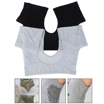 1Pc Tshirt Shape Sweat Pads Reusable Washable Underarm Armpit Sweat Pads Perfume Absorbing