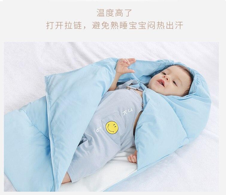 ÄUltimate DealQuilt Sleeping-Bag Warm Newborn Thick Baby Winter Children Cotton 0-1-Years-Old
