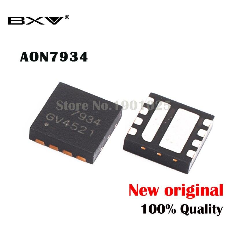 5pcs AON7934 AO7934 7934 MOSFET QFN-8 New Original