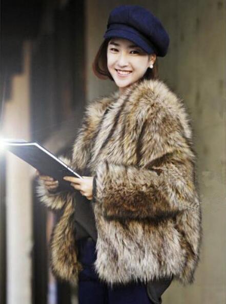 Autumn short faux mink   leather   jacket womens winter thicken warm fur   leather   coat women slim jackets jaqueta de couro fashion