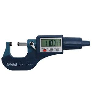 Image 4 - Shahe micrómetro Digital micrón de 0 25/25 50/50 75/100mm, micrómetro electrónico exterior, calibrador de herramientas digitales de 0.001mm