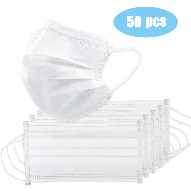 Pink Disposable Non-woven  Face Mask  BreathableMask with Elastic Earband Breathable Mask 2
