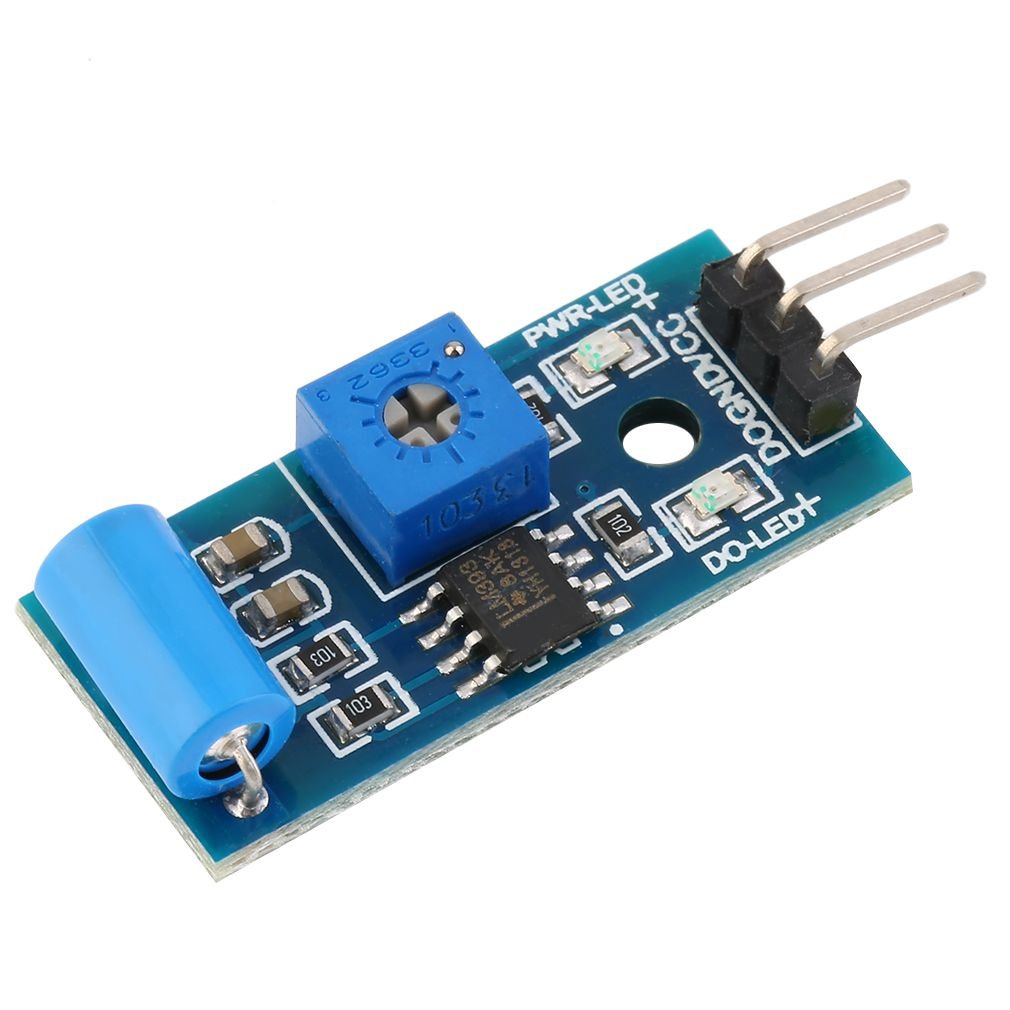 1pcs Normally Closed Type Vibration Sensor SW-420 3.3V-5V Vibration Sensor Alarm Module Motion Shake Shock For Arduino 3.3V-5V