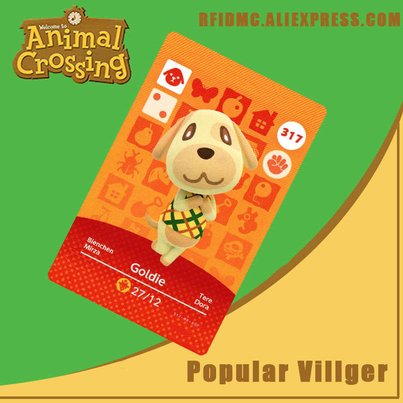 317 Goldie Animal Crossing Card Amiibo For New Horizons